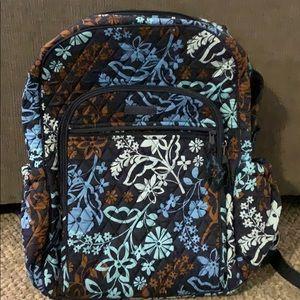 NWOT Vera Bradley floral print backpack